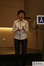 Sabrina Lee at the January 27-29, 2007 Internet Dating Conference in Barcelona