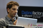 David Khalil (Co-Founder of eDarling) at the 2012 European Online Dating Industry Conference in Cologne