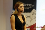 Oksana Reutova (Head of Affiliates at UpForIt Networks) at the 2012 European Online Dating Industry Conference in Koln