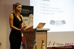 Oksana Reutova (Head of Affiliates at UpForIt Networks) at the 2012 European Online Dating Industry Conference in Cologne