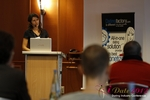 Tanya Fathers (CEO of Dating Factory) at the 2012 European Union Internet Dating Industry Conference in Germany