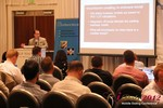 Brian Bowman (CEO of TheComplete.me) during Keynote Address at iDate2012 Los Angeles