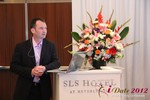 Mark Brooks (CEO of Courtland Brooks) at the iDate Mobile Dating Business Executive Convention and Trade Show