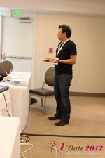 Andy Kim (CEO of Mingle)  at the June 20-22, 2012 California Online and Mobile Dating Industry Conference