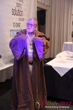 Jonathan Crutchley (Chairman at Manhunt) is actually Obi Wan Kenobi! at the June 20-22, 2012 Mobile Dating Industry Conference in California