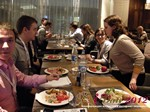 Lunch at the 2012 Russian Mobile and Internet Dating Summit and Convention in Moscow