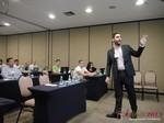 Marco Tulio Kehdi COO of Raccoon Marketing Digital speaking on Brazil Search  at iDate2013 Sao Paulo