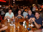 Netwokring Party of Brazil dating exectuives  at the 36th iDate Dating South America Business Conference in Sao Paulo