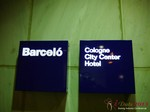 The Barcelo Hotel at iDate2013 Europe