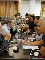 Speed Networking at the September 16-17, 2013 Mobile and Online Dating Industry Conference in Köln