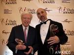 Dr. Warren & Paul Falzone at the 2013 Internet Dating Industry Awards in Las Vegas
