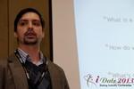 Arthur Malov (Internationl Dating Coach Association) at the 2013 Internet Dating Super Conference in Las Vegas