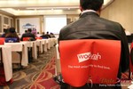 Wooyah (Chair Cover Sponsor) at the January 16-19, 2013 Las Vegas Internet Dating Super Conference