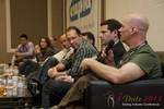 Sam Moorcroft (CEO of Christian Cafe) at the Final Panel at iDate2013 Las Vegas
