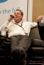 Max McGuire (CEO of RedHotPie) at the 2013 Las Vegas Digital Dating Conference and Internet Dating Industry Event