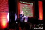 Sam Moorcroft announcing the Most Innovative Company in Las Vegas at the 2013 Online Dating Industry Awards