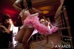 Las Vegas showgirls begin the festivities at the 2013 Las Vegas iDate Awards Ceremony
