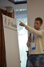 Ashley Christie, CEO of theMobileHub  at the 39th iDate2014 Koln convention