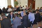 Speed Networking among Dating Industry Executives  at the 39th iDate2014 Koln convention