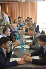 Speed Networking Among Dating Industry Executives  at the September 7-9, 2014 Mobile and Internet Dating Industry Conference in Koln