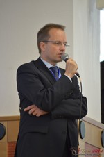 Dieter Plassman, CTO at Net-M  at the 11th Annual Euro iDate Mobile Dating Business Executive Convention and Trade Show