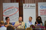 Wayne May of ScamSurvivors, Final Panel  at the 2014 European Online Dating Industry Conference in Koln