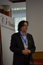 Francesco Nuzzolo, France Manager for Dating Factory  at the 2014 European Online Dating Industry Conference in Koln