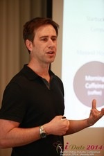 Author Neal Cabage Of The Smarter Startup at the 38th iDate2014 Los Angeles
