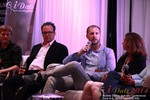 Mobile Dating Final Panel CEOs  at the 38th iDate2014 Los Angeles