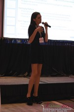 Rosalie Sutherland Of AnastasiaDate Speaking On Mobile Dating Conversions  at the June 4-6, 2014 Mobile Dating Business Conference in Los Angeles