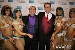 Marc Lesnick & Mark Brooks (iDate Awards Thanks You!) at the 2014 iDate Awards Ceremony