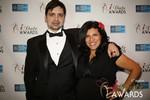 Arthur Malov & Damona Hoffman  at the 2014 iDateAwards Ceremony in Las Vegas