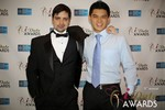 Arthur Malov & Kevin Feng  in Las Vegas at the January 15, 2014 Internet Dating Industry Awards