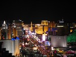 View of Las Vegas Strip - Party @ Foundation Room at the January 14-16, 2014 Internet Dating Super Conference in Las Vegas
