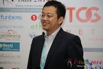 CFO of Jiayuan at iDate at the 2014 Internet Dating Super Conference in Las Vegas