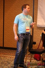 Michael O'Sullivan - CEO of HubPeople at the January 14-16, 2014 Las Vegas Online Dating Industry Super Conference