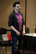 Prof. Damon McCoy - George Mason University at the 2014 Internet Dating Super Conference in Las Vegas