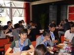 Lunch at the 41st iDate2015 China convention