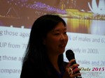 Violet Lim - CEO of Lunch Actually at the 41st iDate2015 China convention