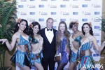 Ken Agee and Svetlana Mucha in Las Vegas at the January 15, 2015 Internet Dating Industry Awards