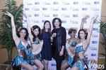 Media Wall with Awards Dancers in Las Vegas at the 2015 Online Dating Industry Awards