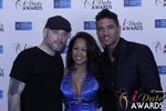 Sean Christian, Carmelia Ray and Doron Kim at the 2015 Las Vegas iDate Awards