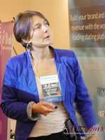 Pauline Tourneur General Manager Of Attractive World Speaking On The French Online And Mobile Dating Market at the 2015 London UK Mobile and Internet Dating Expo and Convention