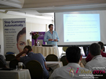Alex Harrington (CEO of Snap Interactive)  at the iDate Mobile Dating Business Executive Convention and Trade Show