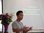 Monty Suwannukul (Product designer at Grindr)  at the iDate Mobile Dating Business Executive Convention and Trade Show