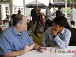 Networking  at the June 8-10, 2016 Mobile Dating Indústria Conference in Los Angeles