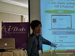 Takuya Iwamoto (Diverse-yyc-co-jp)  at the June 8-10, 2016 Mobile Dating Indústria Conference in Los Angeles