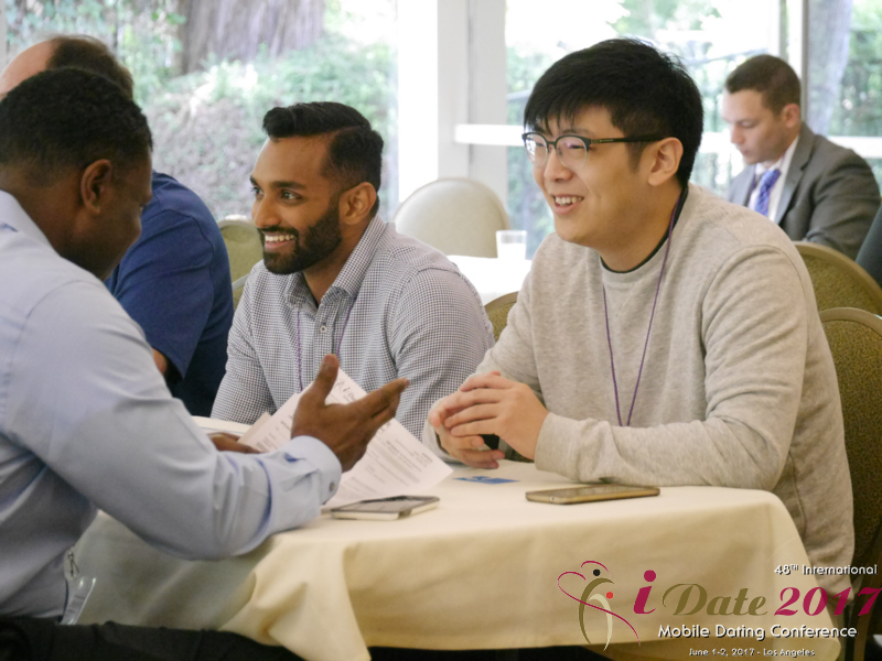 Speed Networking - Online Dating Industry Professionals at the iDate Mobile Dating Business Executive Convention and Trade Show