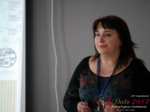 Irina Matulkova at the iDate Dating Agency Business Executive Convention and Trade Show