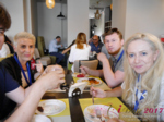 Lunch at the July 19-21, 2017 Minsk International Romance Business Conference